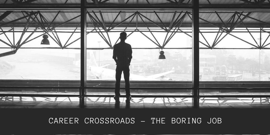 Career crossroads – my insurance job is boring