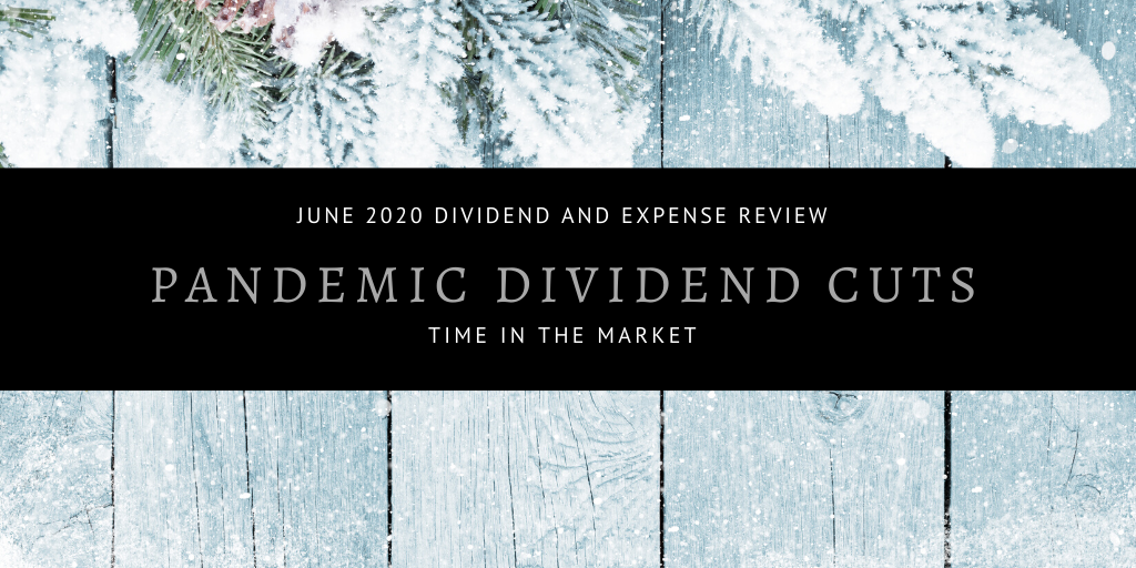 Dividend and Expense Review – June 2020 – Pandemic Dividend Cuts